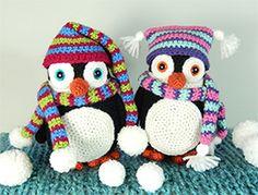 Pendleton and Penelope Penguin | Moji-Moji Design