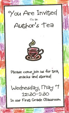 1000 Images About Authors Tea On Pinterest Celebrations