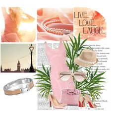 Pink Weekend Party Style in Herve Leger dress by shoeswithredsoles on Polyvore