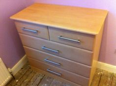 5 draw chest made to customers specification by home-improver.com