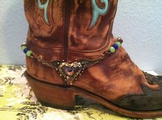 boot jewelry | boot a full bling super cute boot jewelry boot anklet boot candy boot ...