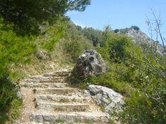 Wanderweg bei Eze an der Küste der Côte d'Azur. Antibes, Nature, Travel, Voyage, Viajes, Traveling, The Great Outdoors, Trips, Mother Nature