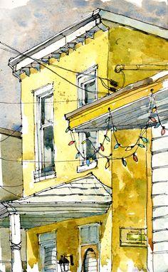 """""""Heritage House"""" by Shari Blaukopf"""