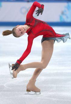 Yulia Lipnitskaya is killing the competition in Sochi, while Evgeni Plushenko dominates YouTube