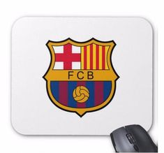 Soccer FC Barcelona Logo PC Computer Mouse Mat Pad Rectangular Very Thick Fc Barcelona Wallpapers, Assassins Creed Game, Pc Computer, Handmade Items, Handmade Gifts, Novelty Gifts, Secret Santa, Marketing And Advertising
