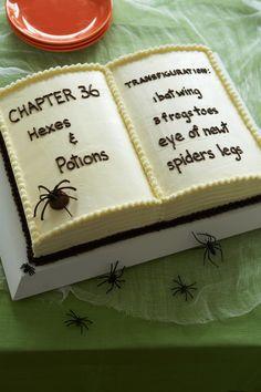 Book of Spells Cake - WomansDay.com