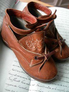 Victorian children's shoes.