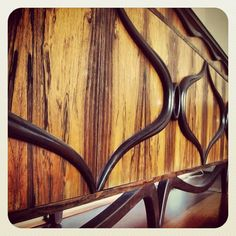 Rosewood sideboard by Rosando Bros. Very rare, very wild!