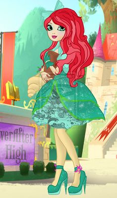 Ever After High Daughter Of The Little Mermaid Oc