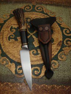 Cuchillo de inspiración criolla, gaucho knife
