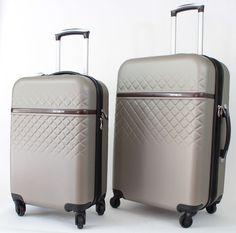 Samsonite Ellipse DLX Luggage 2 Pc Set CarryOn Spinner Suitcase 20 24 In Sesame  #Samsonite