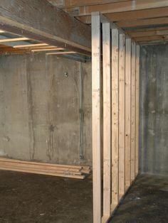 How to build floating walls in your basement my for How to build floating walls in basement