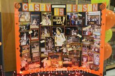 trifold board ideas for volleyball reception Cheer Posters, Basketball Posters, Basketball Gifts, Football Posters, Senior Cheerleader, Senior Softball, Volleyball, Cheerleading, Football Locker Decorations