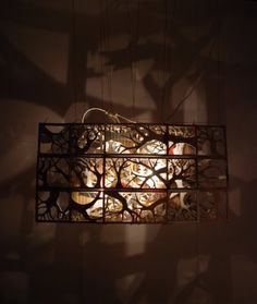 SF Green Labs: Jungmo Kwon's cardboard light sculpture