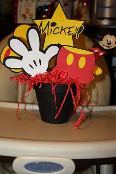 Mickey/Minnie Mouse Birthday Centerpieces