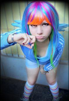 6874e6f33a5 Rainbow Dash - My Little Pony by IvannaKrueger on deviantART