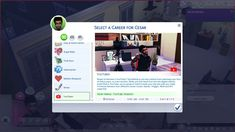 Lana CC Finds - YouTuber Career by itsmeTroiYT (Sims 4) This...