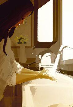 pascal campion: The faucet.