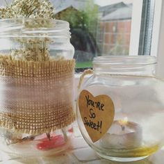 Re-using old jars!