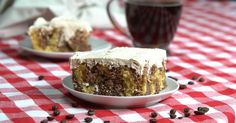 Forget That Morning Cuppa Joe, Get Your Coffee Fix with This Delicious Mocha Poke Cake!