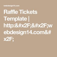 Raffle Ticket Creator Print Numbered Raffle Tickets At Home Using - Numbered raffle ticket template
