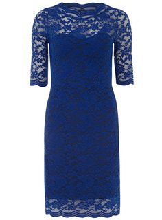 Royal blue lace dress bridesmaid dresses and lace bridesmaids