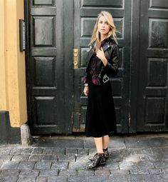 Layer punk and rock together for effortless cool