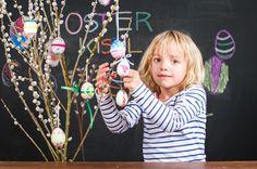Viele bunte Ostereier - alles selbst geschmückt! Bunt, Crafting, Kids