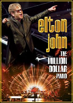 Elton John's 'The Million Dollar Piano' is a residency at The Colosseum at Caesars Palace in Las Vegas. The show has been running since September 2011 with the most recent leg being 16 shows between March 29 and April 26 2014. The concerts are ...