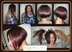 OCS ile İşte inanılmaz değişim karşınızda! Gözlerinize inanamayacaksınız. Organic Colour Systems, Hair Studio, Color, Colour, Colors