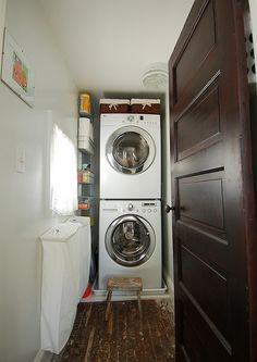beautiful laundry room ideas stacked washer dryer with stackable