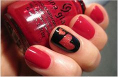 Take a look at 14 Cute Valentines Day Nail Art Ideas for Teens in the photos below and get ideas for your own Valentines Day Nail Art! Valentine Nail Art Ideas – Scrabble Love Nails – Cute and Cool Looks For… Continue Reading → Fancy Nails, Love Nails, Red Nails, Pretty Nails, Black Nails, Red Manicure, Heart Nail Art, Heart Nails, Accent Nails