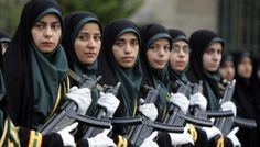Soldados iranianas.