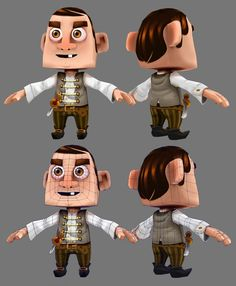 low poly characters - Google Search