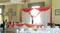 How To Set Up A Wedding Backdrop