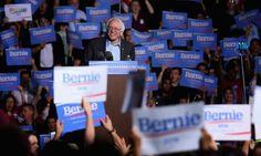 Former Occupy Wall Street protesters rally around Bernie Sanders campaign