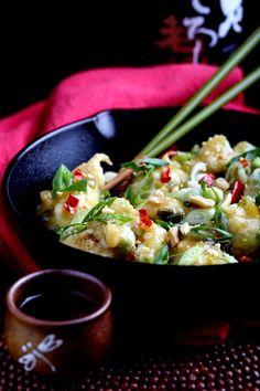 Olives for Dinner | Recipes for the Ethical Vegan: General Tso's Cauliflower