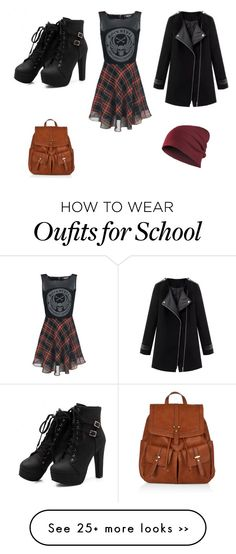 """""""Back to school 2015"""" by amber-de-bleeckere on Polyvore featuring moda ve Accessorize"""
