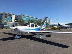 Crossing the Atlantic in a Cirrus - Another great article on AvBuyer Cirrus Sr22, Small Airplanes, Paint Schemes, Rv, Aviation, Vans, Europe, Motorhome, Paint Color Schemes