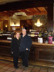 Ironstone Winery, Murphy, CA with Tom was fantastic. He loved the Obsession Symphony