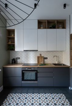 41 Fancy Kitchen Interior Decoration Ideas For Today - When planning the layout or just redoing the decorating, taking on a kitchen interior design project is exciting. It is neat to see a project come to . Kitchen Room Design, Modern Kitchen Design, Kitchen Layout, Home Decor Kitchen, Kitchen Living, Interior Design Kitchen, Kitchen Ideas, Small Apartment Kitchen, Diy Kitchen