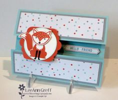 Foxy Friends Fun Fold card with video