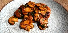 Chicken Marsala — CaraDiFalco.com I used to love when my Mom made her chicken marsala for dinner. Now it's a favorite for my husband and me.  This dish is easy enough to pull off on a weeknight but delicious enough to feel like a special meal. I hope it becomes one for you and your family!
