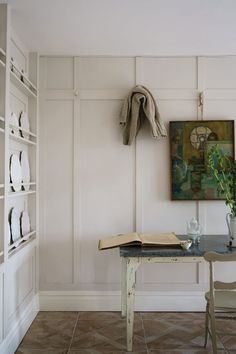 Farrow Ball, Interior Walls, Interior And Exterior, Interior Design, Exterior Paint, Interior Plants, Wimborne White, Eggshell Paint, Old School House