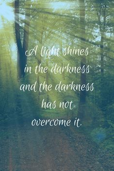 The Light That Shines in the Darkness - Jesus is the light! The darkness can not overcome Him! #Jesus #Jesusisthelight #seekGod #prayer #seaofglassreflections