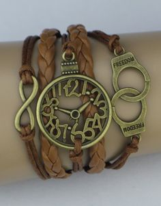 Handcuffs, Watch, Infinity ModWrap Bracelet - Choose 3 FREE ModWraps ($45.00 value) at www.gomodestly.com/modwraps Must use coupon: PINTERESTFREE Just cover shipping. #bracelets #freebie #jewelry #coupon