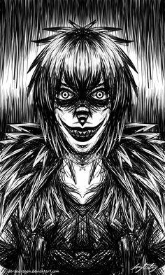 JustADoodle: Laughing Jack by DerseDragon.deviantart.com on @DeviantArt