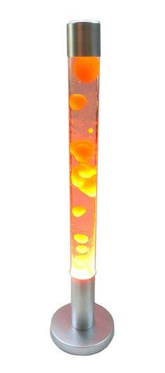 Orange/Clear Floor Lamp 2 1/2 Foot Tall Lava Lamp Motion Lamp