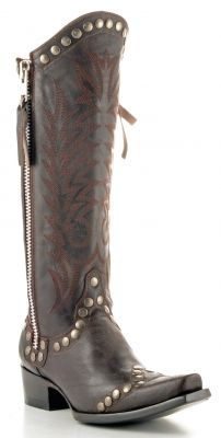 Womens Old Gringo Rock Razz Boots Chocolate #L598-3 via @Allens Boots