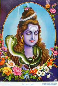 Lord Shiva (via christopherpinney.com)